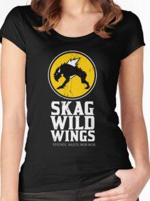 Skag Wild Wings (alternate) Women's Fitted Scoop T-Shirt