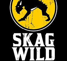 Skag Wild Wings (alternate) by spazzynewton