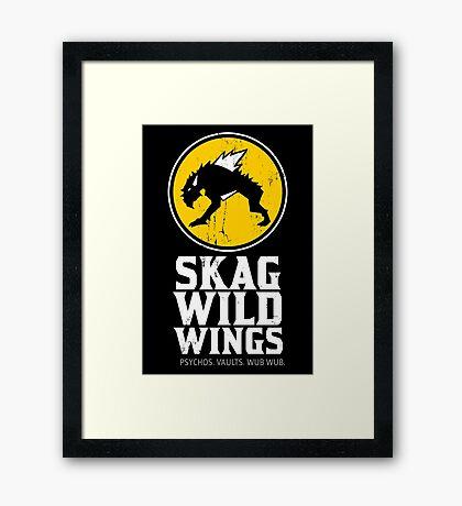 Skag Wild Wings (alternate) Framed Print