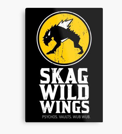 Skag Wild Wings (alternate) Metal Print