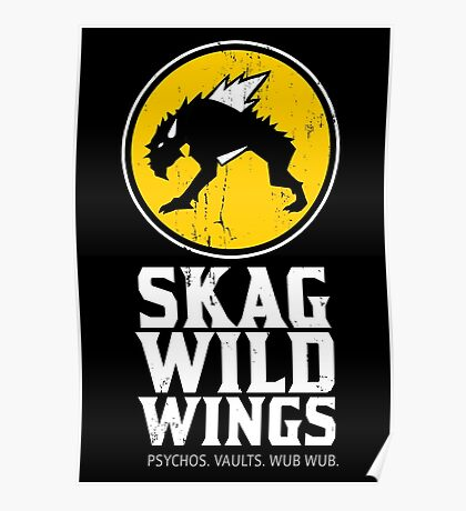 Skag Wild Wings (alternate) Poster