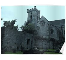 Culross Abbey Poster