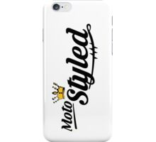 Moto Styled (Cafe Racer) iPhone Case/Skin