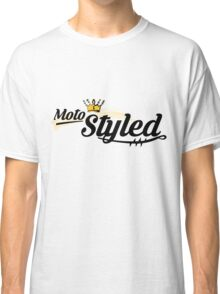 Moto Styled (Cafe Racer) Classic T-Shirt