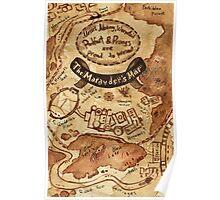 Marauders Map Poster