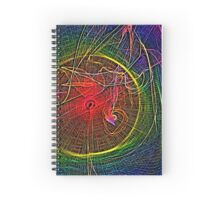 The Way Light Bends Spiral Notebook