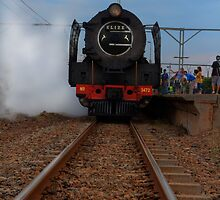 Steam Train to Magaliesberg by JandeBeer