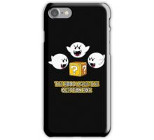 The Boos have the question box iPhone Case/Skin