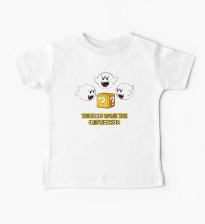 The Boos have the question box Baby Tee