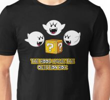 The Boos have the question box Unisex T-Shirt