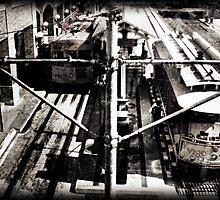 Ybor City Streetcars by Jeff Clark