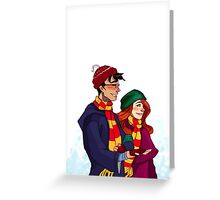 James and Lily Greeting Card