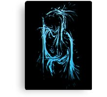 Splashed Letters - B Canvas Print