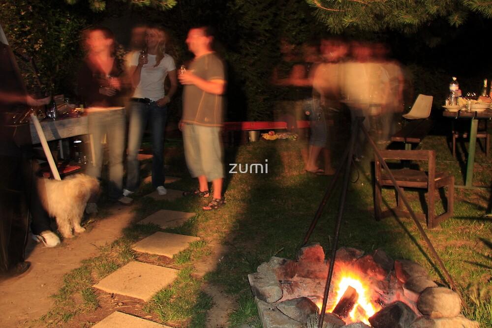 Garden party by zumi
