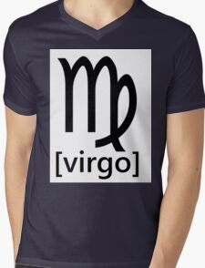 virgo Mens V-Neck T-Shirt