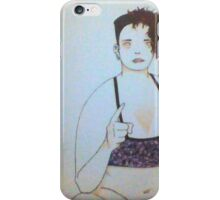 My finger point iPhone Case/Skin