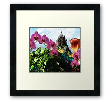 To The Castle Framed Print