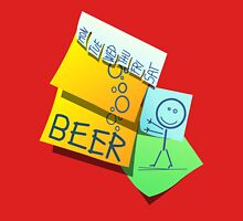 Time for beer! Unisex T-Shirt