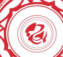 Gremory Clan Magic Circle Sticker