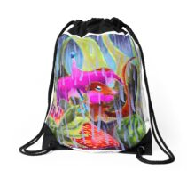 A Little Rain Drawstring Bag