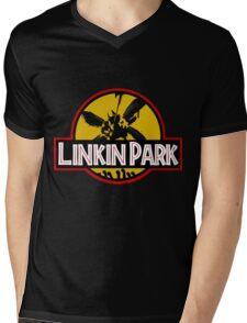 Jurassic Mens V-Neck T-Shirt