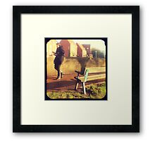Walk on By Framed Print