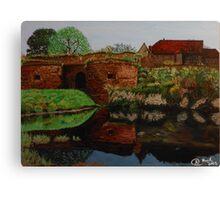Fortress at Heldrungen Canvas Print
