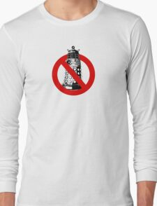 WHO you gonna call? White Long Sleeve T-Shirt