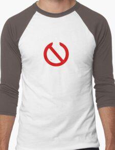WHO you gonna call? Black Men's Baseball ¾ T-Shirt