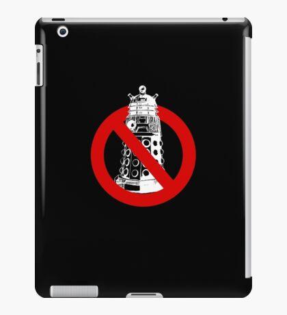 WHO you gonna call? Black iPad Case/Skin