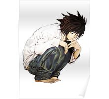 L - Death Note Poster