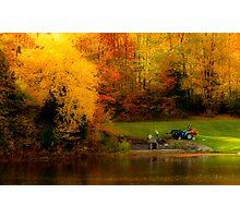 Fall Planting Photographic Print