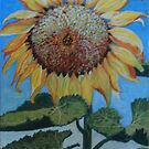 Sunflower Smiling At The Day by Kashmere1646