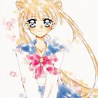Sailor moon Water Color  by mangaheart