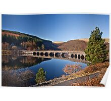 Elan valley bridge Poster
