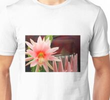 Here's Life To Fleck Zephyr Pink Unisex T-Shirt