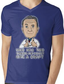 Scrubs Bob Kelso 2 Mens V-Neck T-Shirt