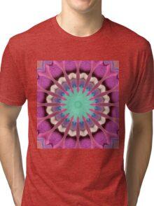 Pink abstract Tri-blend T-Shirt