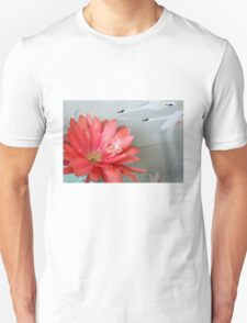 Cactus Flower In A Swan Dive T-Shirt