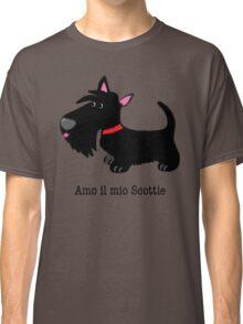 Amo il mio Scottie (I love my Scottie – Italian) Classic T-Shirt