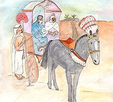Philip and the Ethiopian by Anne Gitto