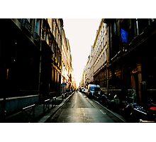 Rue de Paris Photographic Print