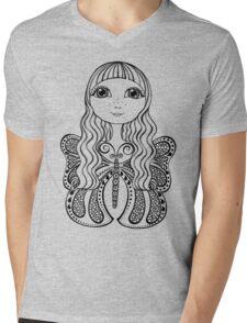 Bebe Mens V-Neck T-Shirt
