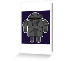 DroidArmy: Cylon Greeting Card