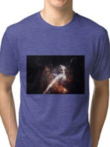 The Milky Way Girl Tri-blend T-Shirt
