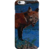 Mischievous, As In Fox iPhone Case/Skin