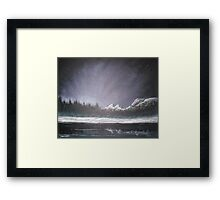 Winters Night Framed Print