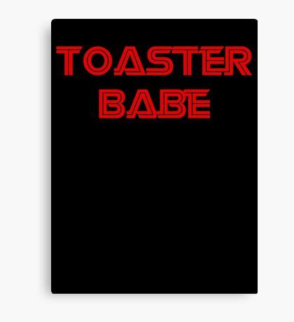 Toaster Babe Canvas Print