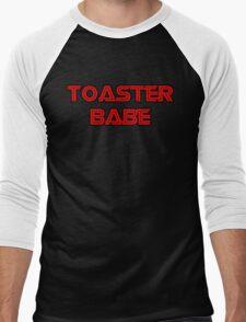 Toaster Babe Men's Baseball ¾ T-Shirt