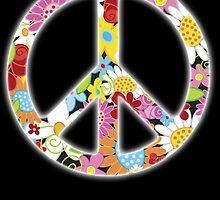 Peace Symbol Hippie 3 by RamsesXll